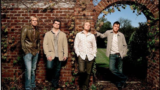 The original band members of 3 Doors Down were Todd Harrell, Chris Henderson, Matt Roberts and Brad Arnold.