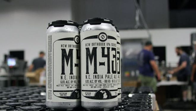 Old Nation Brewing Co.'s popular M-43 New England IPA is now sold at Ford Field in Detroit.