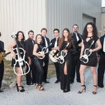 White Tie Rock Ensemble brings rock masterworks to the Saenger