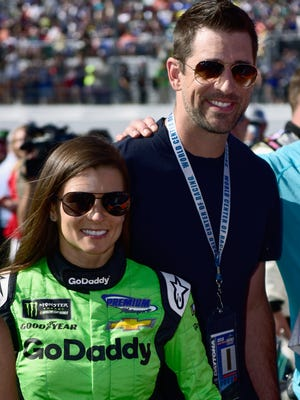 Danica Patrick and Aaron Rodgers will visit India on April 12 as part of a philanthropic mission with the Starkey Hearing Foundation.