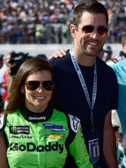 Aaron Rodgers will be at the Indy 500 for Danica Patrick?s last race.  Jared C. Tilton/Getty Images Danica Patrick and Aaron Rodgers will visit India on April 12 as part of a philanthropic mission with the Starkey Hearing Foundation.