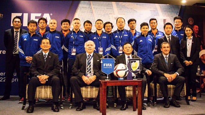 Technical directors from the region's FIFA member associations, including Gary J. White of Guam Football Association, recently converged for a FIFA Technical Directors Meeting and Workshop in Chengdu, China.