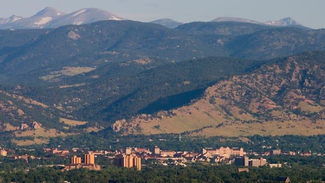 FILE ART: A scenic view of Boulder, Colorado
