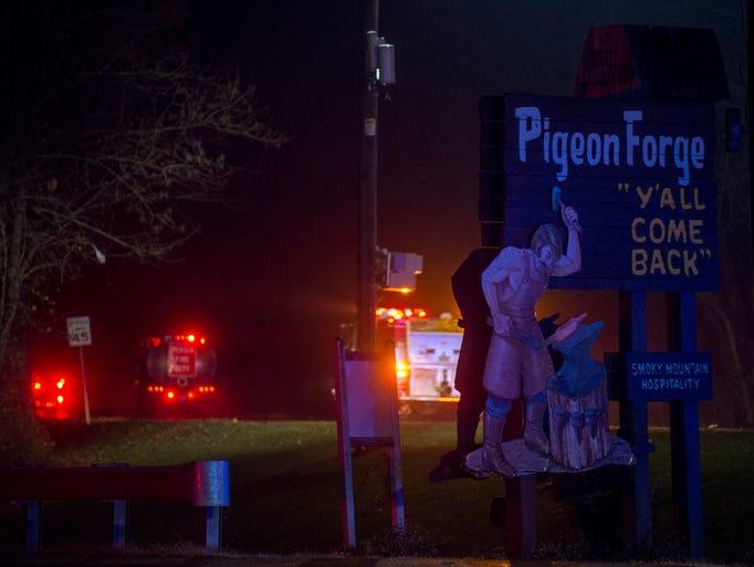 Photos Wildfires Wreak Havoc On Gatlinburg