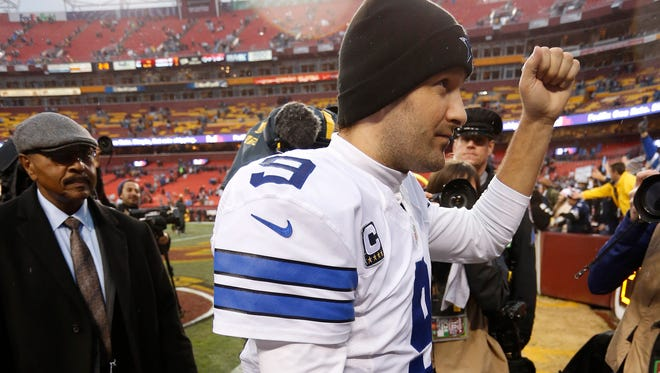 Dallas Cowboys quarterback Tony Romo is playing well as he leads his team into the playoffs.