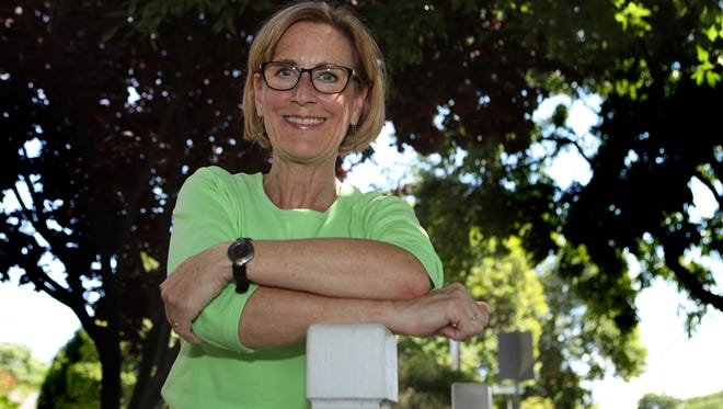"""Terri Moravec has been actively involved with Neighborhood Watch for six years. Moravec is also a block captain in her Wildwood Park neighborhood in downtown Redding. """"When neighbors get to know each other, and look out for one another, they become the eyes and ears for law enforcement when there's suspicious activity in the neighborhood."""""""