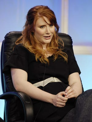 """Bryce Dallas Howard, seen here answering a question during the Television Critics Association summer press tour, had a film in the Palm Springs International ShortFest that screened Friday titled """"Solemates."""""""