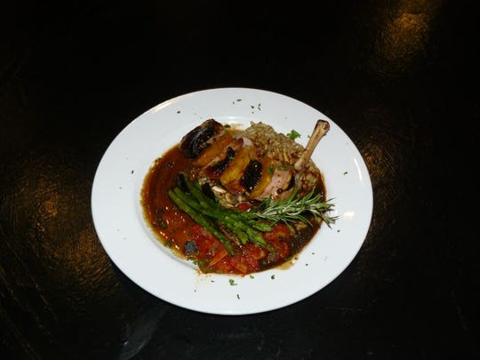 A dish at the new Sazerac New Orleans Bistro.