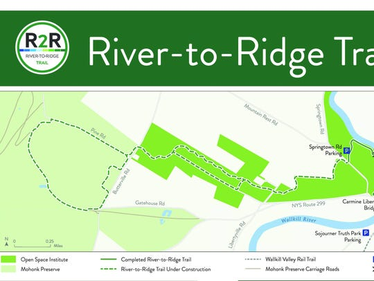 The River-to-Ridge Trail in New Paltz is being funded