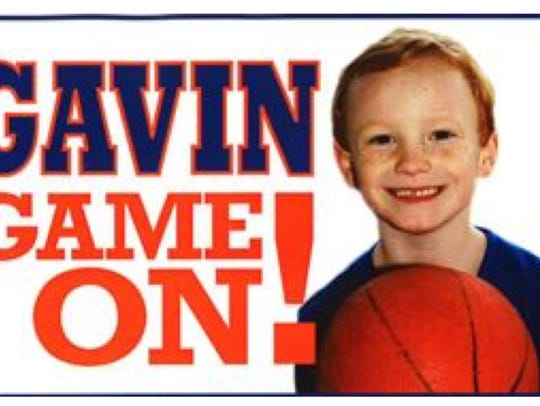 A basketball game will help raise funds for Gavin.