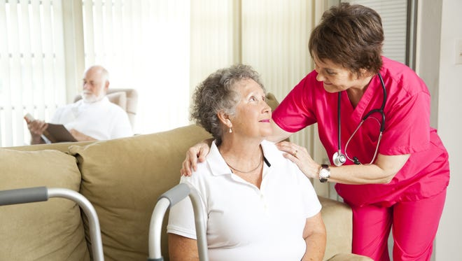 Hospice care is most often provided in the patient's home, but it can also be provided in hospitals, assisted living, and nursing homes.