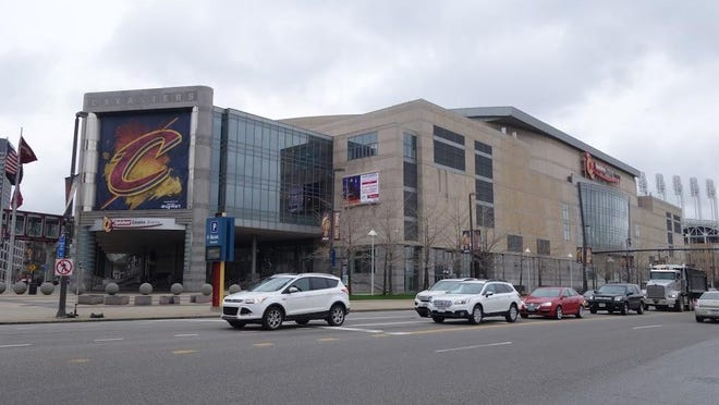 Quicken Loans Arena in Cleveland.