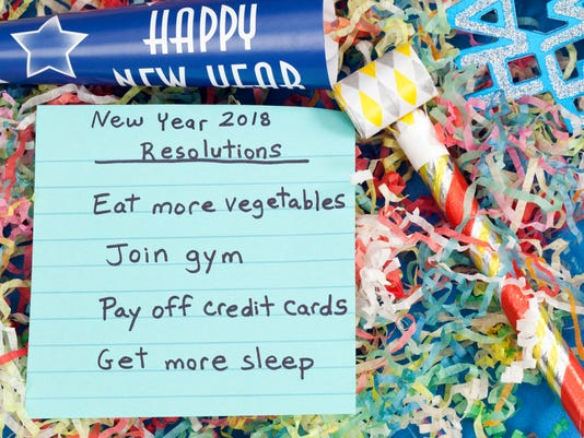 New Year 2018 Reslolutions