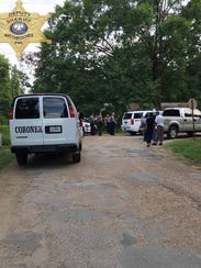 A Natchitoches man died Monday afternoon after a shooting,