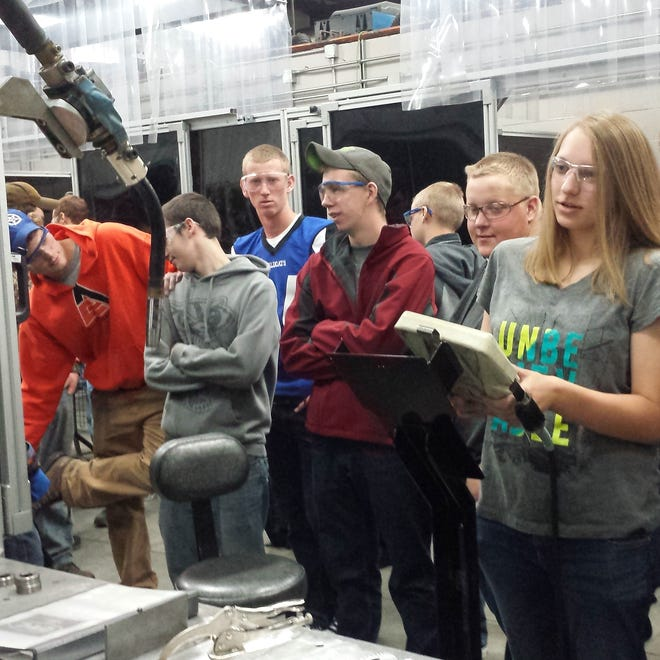 Two busloads of students from Oshkosh North and West high schools had the opportunity on Oct. 3, Manufacturing Day, to learn more about manufacturing careers through tours and presentations.