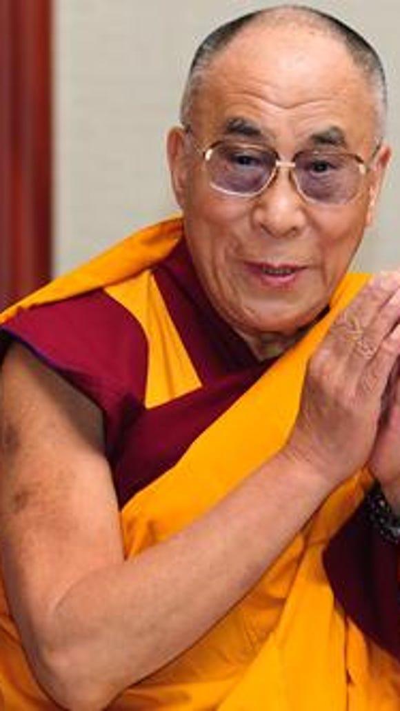 The 14th Dalai Lama (Photo: Frederic J. Brown/Getty Images)
