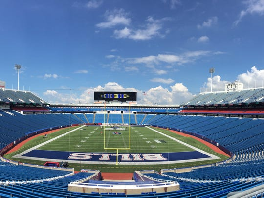 Ralph Wilson Stadium was officially renamed New Era Field.