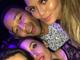 Kim Kardashian takes a selfie with John legend and