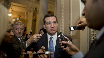 Sen. Ted Cruz, R-Texas, on Capitol Hill on Oct. 20, 2015.