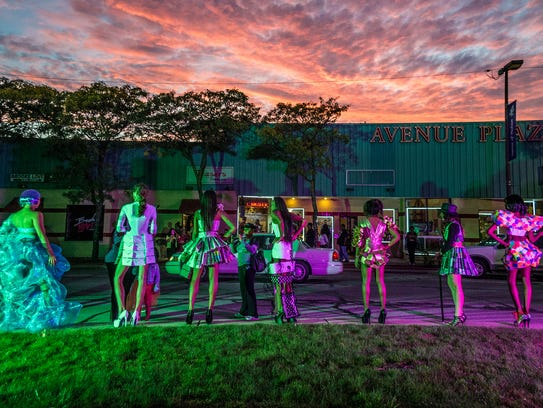 Light Up Livernois will include fashion vignettes,
