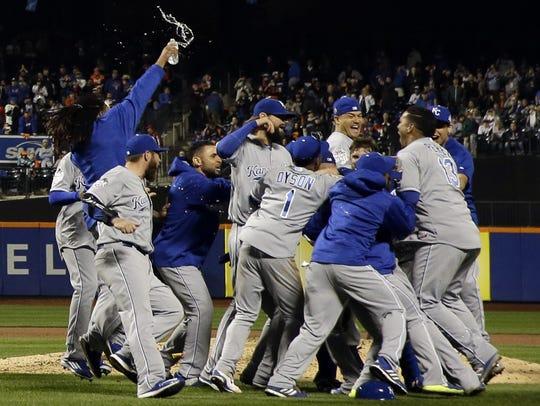 The Kansas City Royals won their first World Series