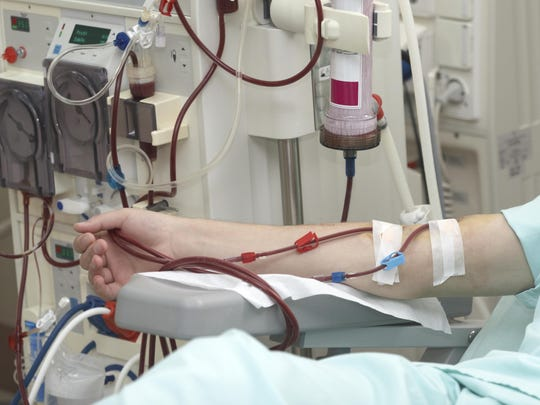 Dialysis health care.