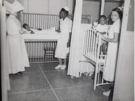 UWF old hospital colored ward