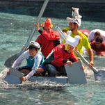 Photos: Cardboard boats in Harris Lagoon Challenge
