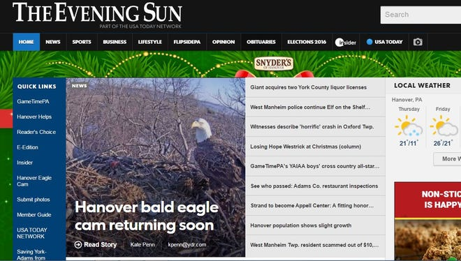 Get a digital subscription to eveningsun.com for just $4.99 for a year for a limited time!