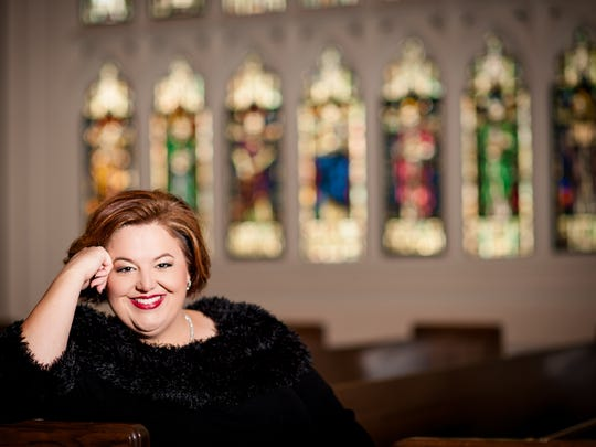Vero Beach native Becky Lour will perform songs from her new album of sacred music at First Bapist Church on Nov. 6.