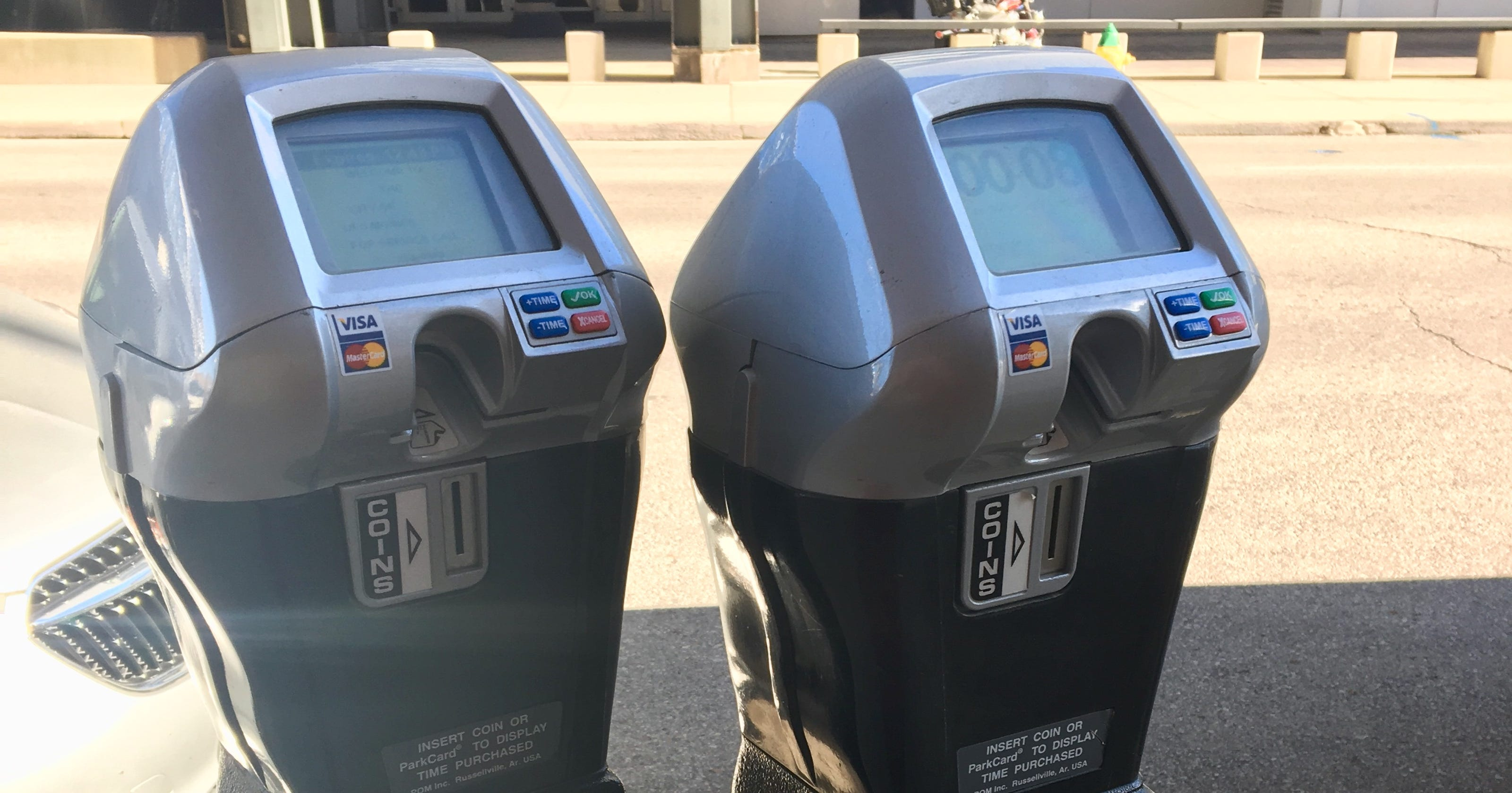 Des Moines parking meters start charging for nights, Saturdays