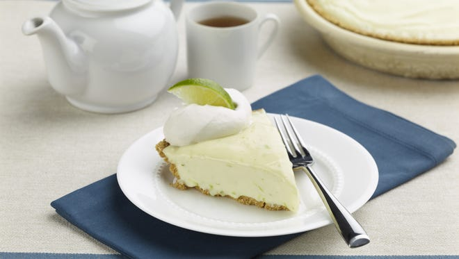 Mexican Lime Pie recipe from 'Wintersweet' cookbook by Tammy Donroe Inman.
