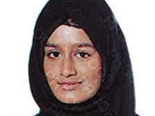 A handout photo of Shamima Begum, issued by the London