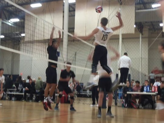 Daniel Wetter broke the Camarillo program record for kills in a match with 36 in a five-set loss to Oxnard.