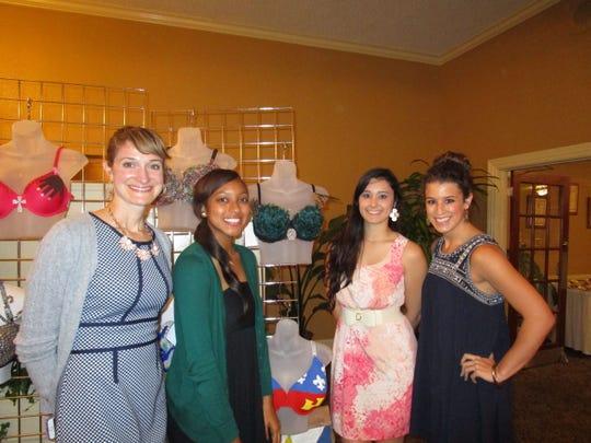 Amy Broussard, Kyrin Minor, Ashley Lambert and Rachel Gibson