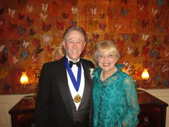 Roger Ogden and Beth Courtney