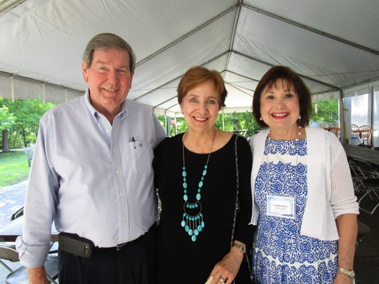 Jack Brignac, Sharon Rue and Norma Guidry