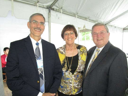 Joseph Cilano, Louise and Bill Bowers