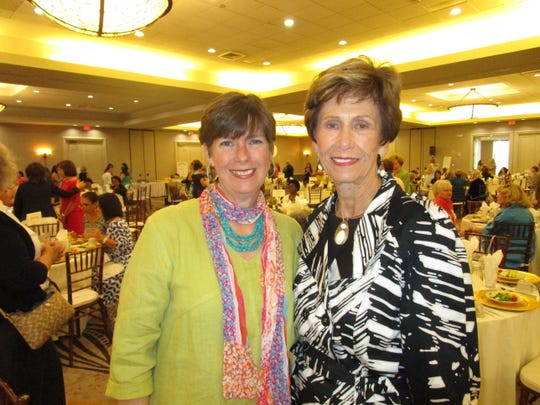 Elizabeth Hesterly and Judy Cox