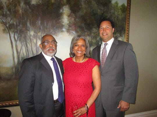 Curtis and Angela Morrison and Jerry Prejean