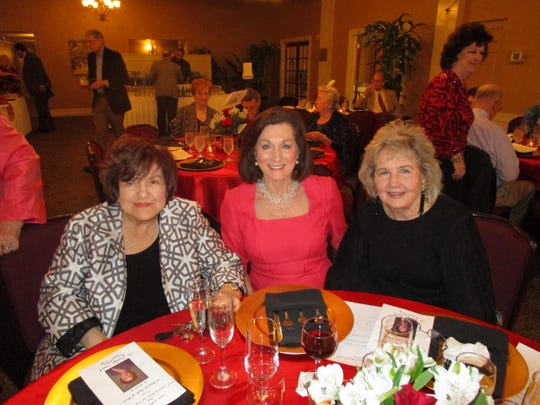 Ann Knight, Jeanie Rush and Janet Begneaud