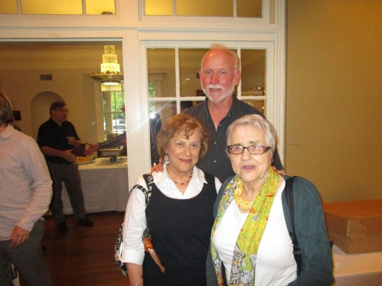 Mary Ann Wilson, Mike Maher and Mathe Allain