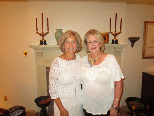 Nanette Cook and Charlinda Hebert