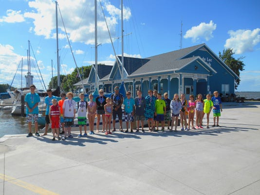 youth sailing event