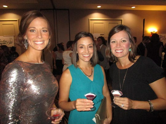 Rayne Broussard, Kristi Guillotte and Ashley Thompson