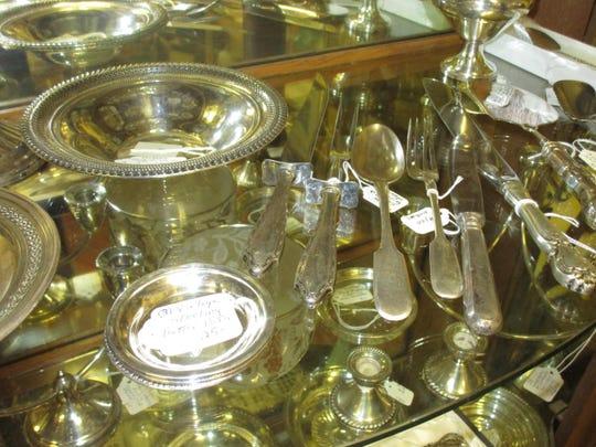 Sterling sliver pieces for sale at Le Cadeau