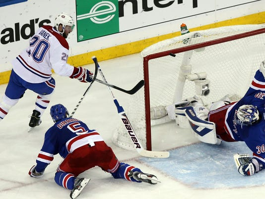 Rangers Canadiens 2014 Game 6 windmill save