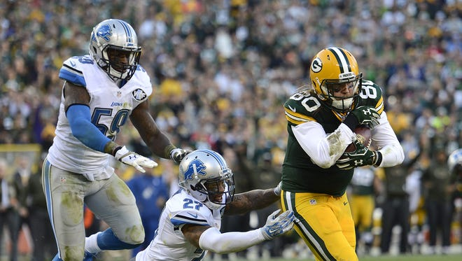 Green Bay Packers tight end Justin Perillo is earning more playing time with the starters while Jared Cook recovers from injury.