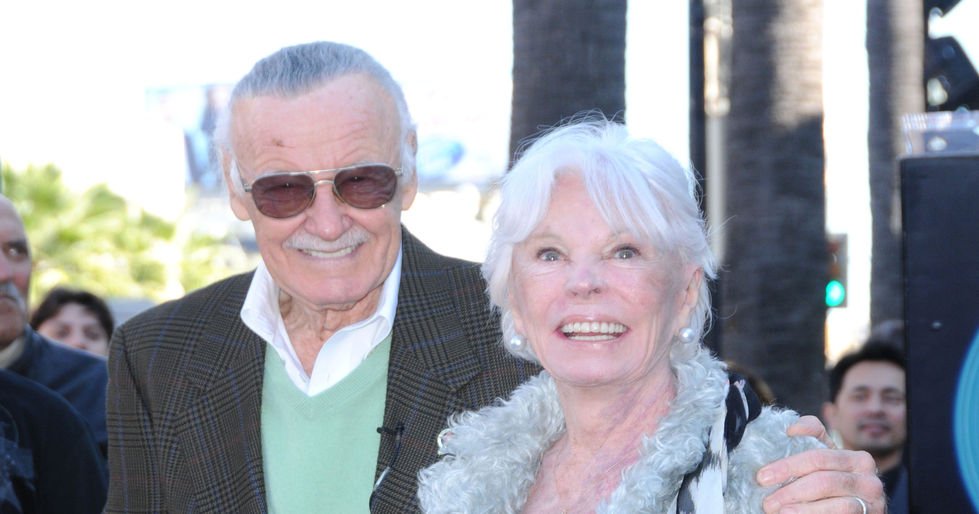 Stan Lee Gives Thanks For The Outpouring Of Love Towards Wife Joan