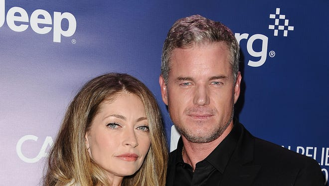 Rebecca Gayheart and actor Eric Dane in 2015.